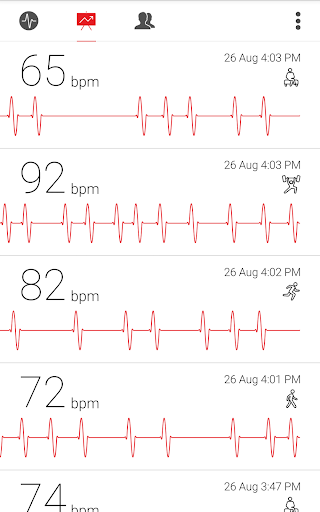 Cardiograph - Heart Rate Meter screenshot 13