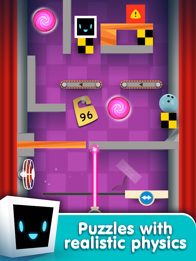 Heart Box - physics puzzle game- screenshot