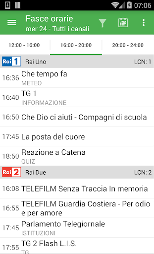 TV Guide Italy FREE screenshot 3