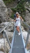 Photo: Trek to the Martuljek waterfalls on Thursday, August 27th.