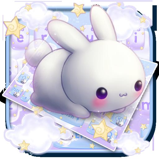 Kawai Rabbit Keyboard Theme Icon
