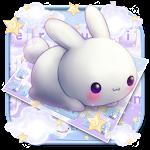 Kawai Rabbit Keyboard Theme