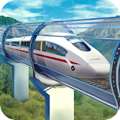 Hyperloop: futuristic train simulator