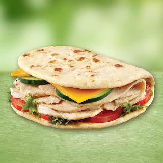 Turkey & Cheese Foldit® Flatbread Club.