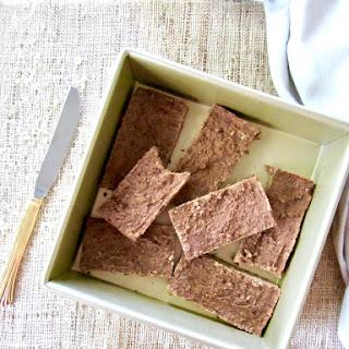 5 Ingredient Sugar Free Cinnamon Protein Bars (Vegan + GF)
