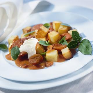 Kartoffelgulasch mit Sellerie