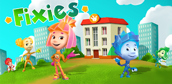 Fiksiki Dream House Games & Home Design for Kids
