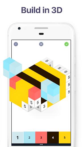 Pixel Art: Build by Number Game screenshot 4