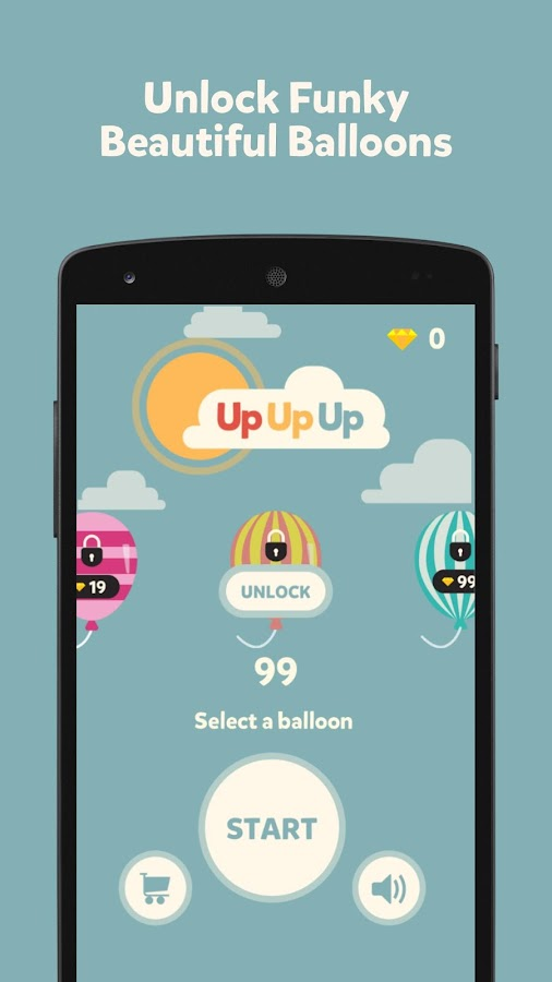 Up Up Up : Balloon Adventures- screenshot