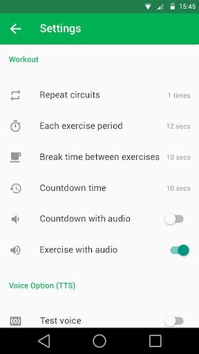 7 Minute Workout Pro  screenshots 7