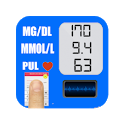 Blood Sugar Test Tracker Infos and Converter icon