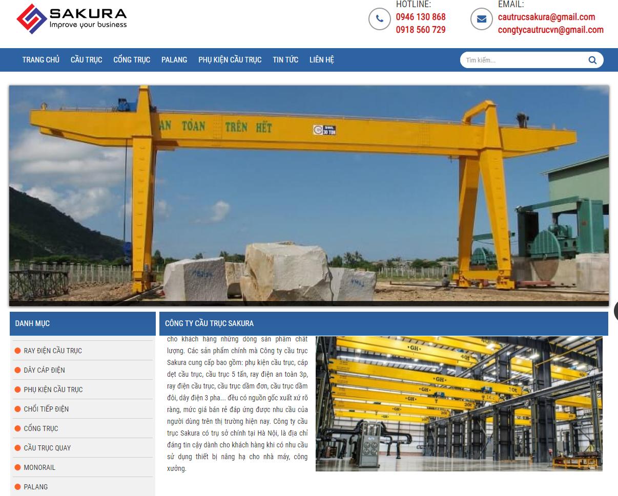 Công ty cầu trục Sakura