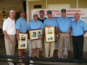Photo: 1st Place Team - Safeco Team #1 (Team Members not in order) Bill Brunk, Jody Brown, Jason Boger, Jeff Gibson, Jeff Sneed, Paul Frein, Cecil Booher