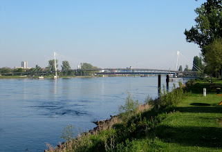 Photo: Day 27 - The Rhine in Kehl