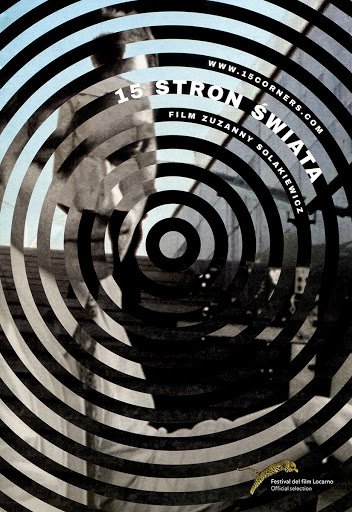 Przód ulotki filmu '15 Stron Świata'