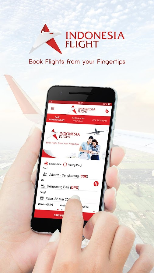 Indonesia Flight Cheap Hotel- screenshot