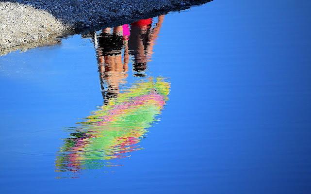 Sotto l'ombrellone. di Naldina Fornasari