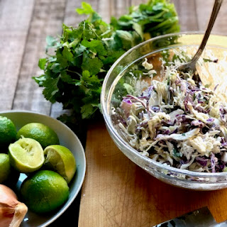 Cumin and Lime Coleslaw Recipe