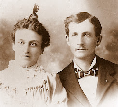 Photo: Ada Hollebee & James Wheeler Holman son of Absolem J & Millie Elizabeth Lovelace Holman