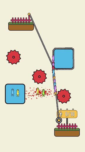 Rope Rescue! - Unique Puzzle 0.9.1 screenshots 1