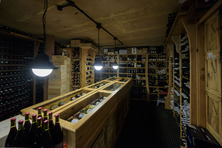 Restaurant Mosaic's wine cellar is home to one of the largest private wine collections in SA, boasting a whopping 85,000 bottles.