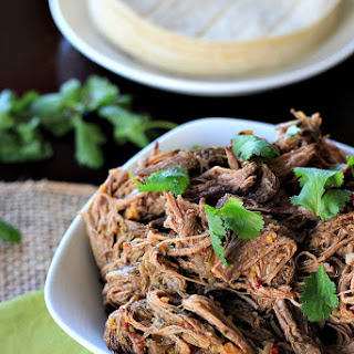 Crock Pot Chipotle Beef Barbacoa.