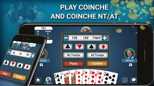 Belote Coinche Multiplayer 2.3 screenshots 2