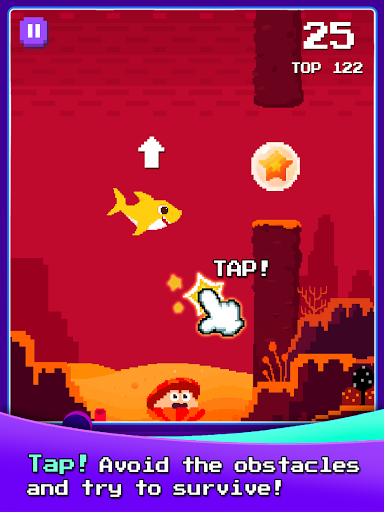 Baby Shark 8BIT : Finding Friends 1.0 screenshots 18