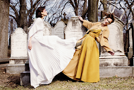 Fashion editorial featuring looks from Agnona, Jimmy Choo and Carolee.