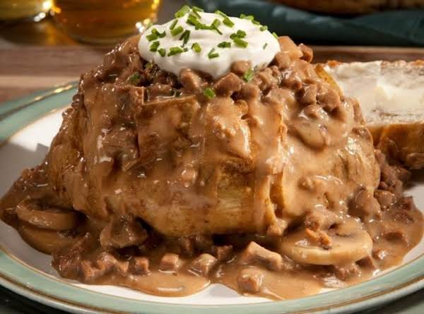 Loaded  Stroganoff  Spud