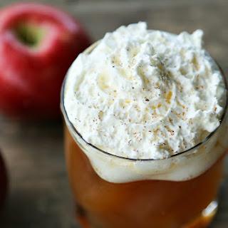 Hot Maple Bourbon Apple Cider.