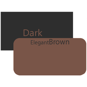 DarkElegantBrown Cm 12/12.1
