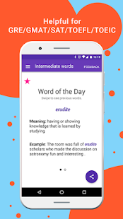 Vocabulary Builder: Word a Day = Better English - náhled
