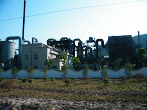 Photo: the factory of a new fertilizer maker, who offered quite some local people a way of life by working for it.