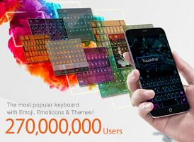Screenshot of TouchPal English (GB) Keyboard