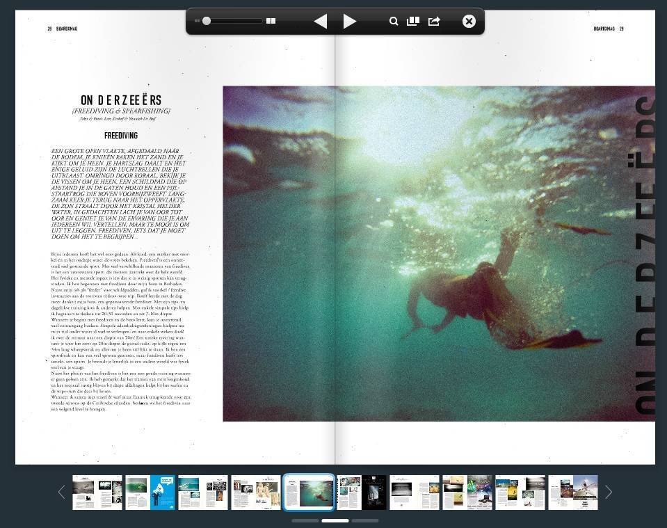 2013, July | Submarines (Freediving & Spearfishing) by Boardx Surf Magazine
