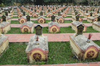 Photo: Military graves