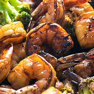 Shrimp And Broccoli With Brown Sauce Recipes.