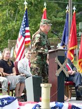 Photo: CSM Neal Genz, former Battalion CSM