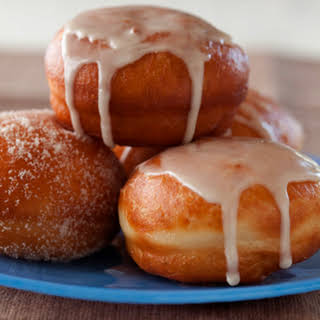 Filled (or not) Yeasty Doughnuts.