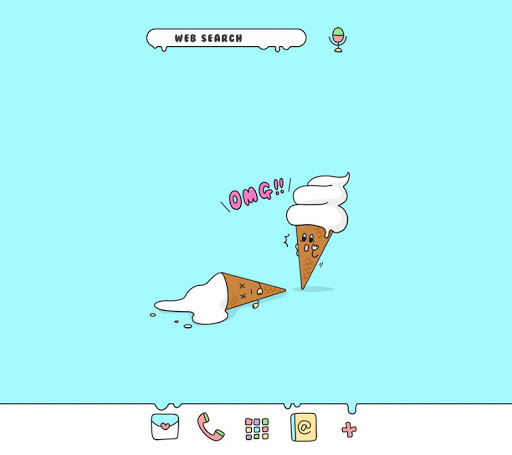 Cute Wallpaper OMG! Ice Cream! Theme 1.0.1 Windows u7528 1