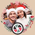 Mistletoe Christmas Selfie HD icon