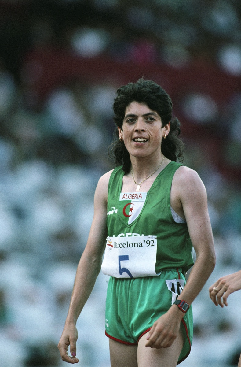 Hassiba Boulmerka - IOC — Google Arts & Culture
