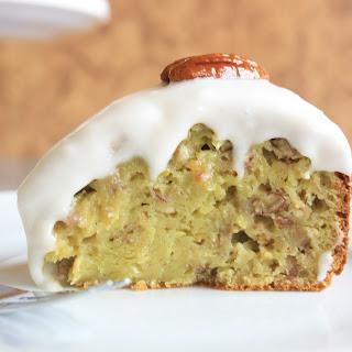 Pecan Banana Avocado Cake (with No Added Butter) Recipe