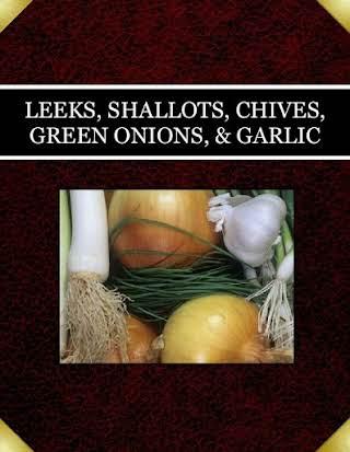 LEEKS, SHALLOTS, CHIVES, GREEN ONIONS, & GARLIC