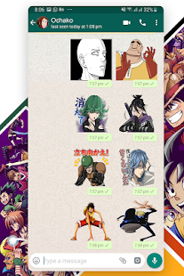New Anime Stickers for WhatsApp (WAStickerApps) Screenshot