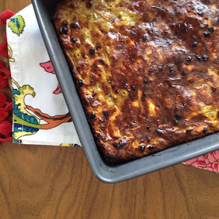 Persian-Style Smoked Aubergine, Chicken and Barberry Frittata (kookoo)