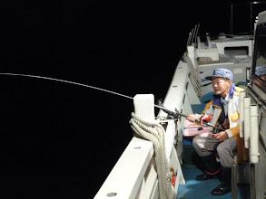 Photo: 日も完全に沈み・・・夜タキスタート!