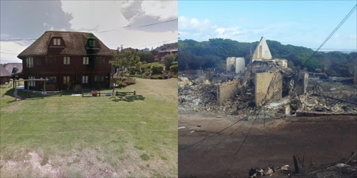 The fires in Knysna and surrounding areas have destroyed many people's homes. Here are some of the homes and a school hostel before the fires struck and what was left in their wake. Source: The Herald
