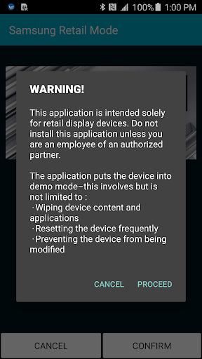 US SAMSUNG RETAILMODE PLATFORM Screenshot